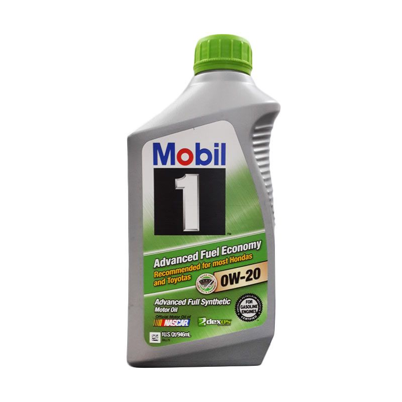 Mobil 1 Advanced Fuel Economy Full Synthetic SAE 0W-20 946 ml