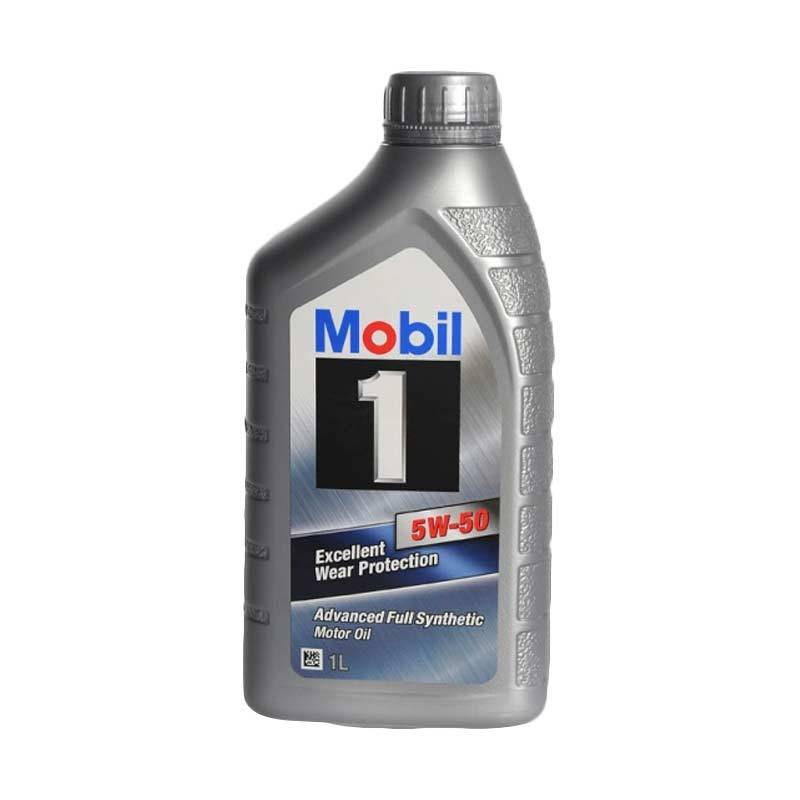Mobil 1 Excellent Wear Protection Advanced Full Synthetic SAE 5W-50 1L