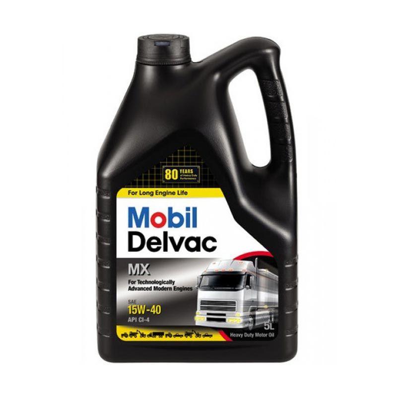 Mobil Delvac MX Pelumas Mobil 5 Liter (15W40)