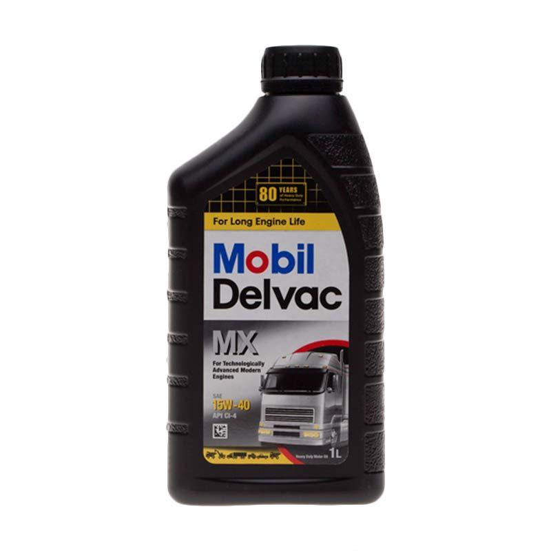 Mobil Delvac MX [SAE 15W40] Oli Pelumas [1 L]