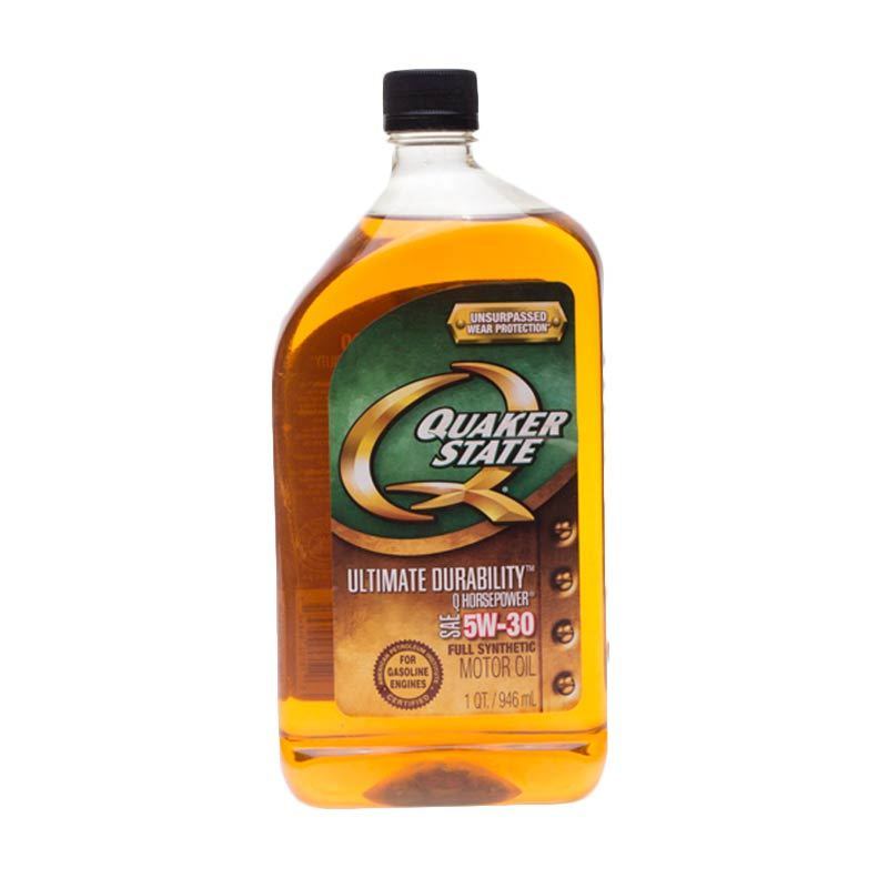 Quaker State Fully Synthetic SAE 5W/30 Oli Pelumas [946 mL]