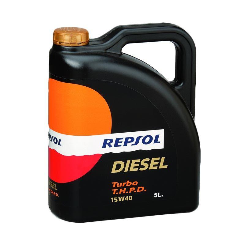REPSOL Turbo S.H.P.D SAE 15W/40 5 Liter
