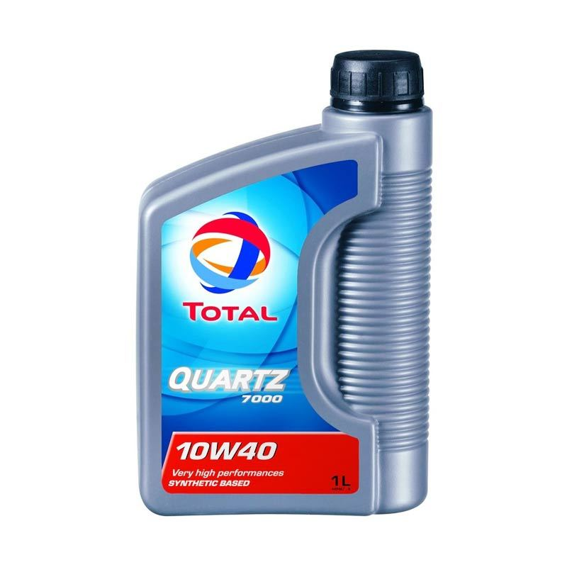 Total Quartz 7000SM Pelumas Mobil 1 Liter (10W40)