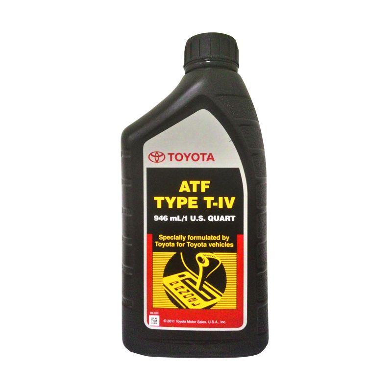Toyota ATF Type T-IV Oli Perlumas [946 mL]