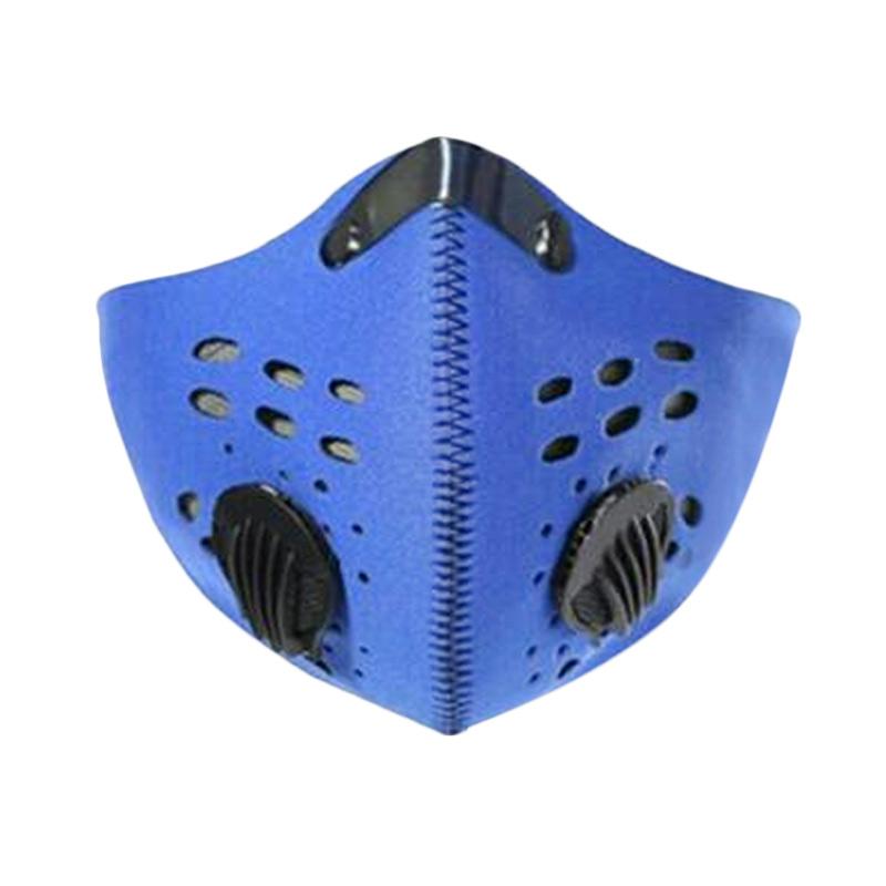 SUPERMASK Anti Polusi Standart Eropa EN 149 Masker Motor