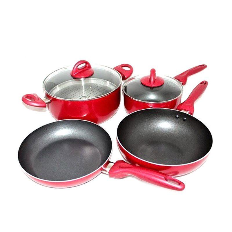 Jual Supra Rosemary Cookware Panci Set 7 Pcs Online