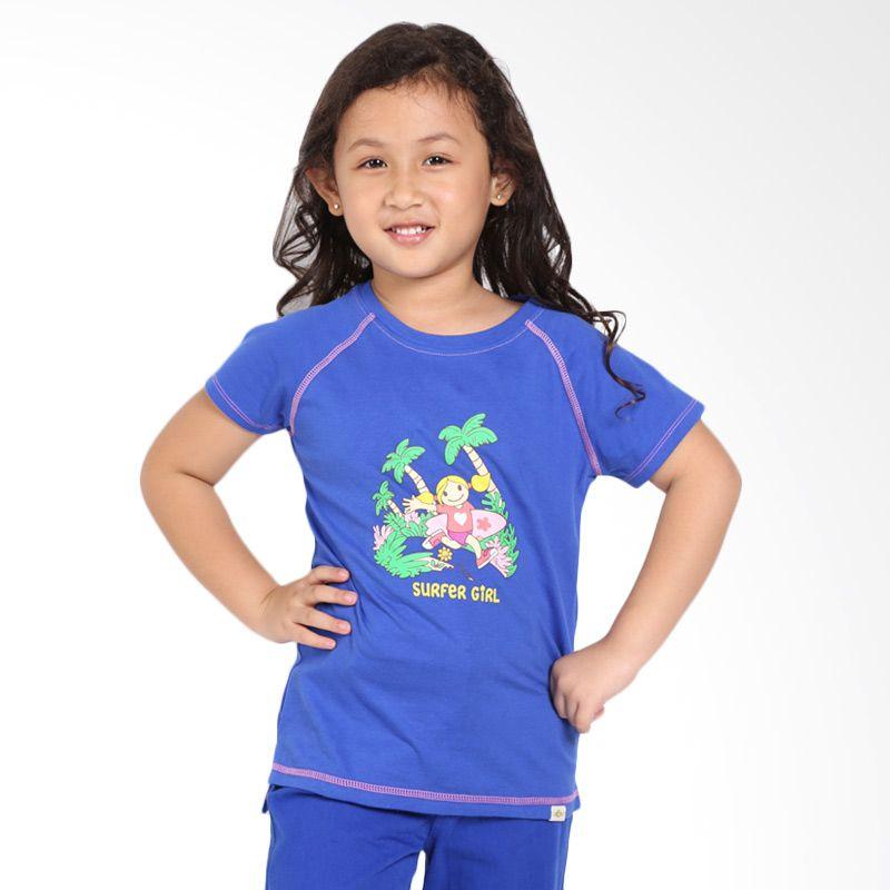 Surfer Girl Junior 7SONJA Blue Atasan Anak Perempuan