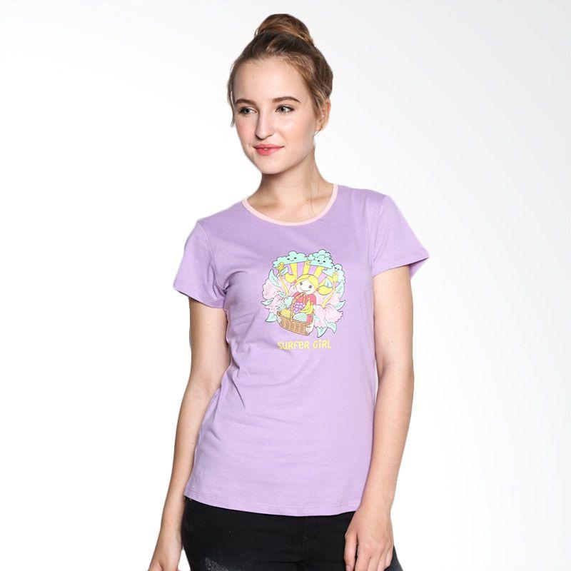 Surfer Girl Connie 8CONNIE Purple Tshirt