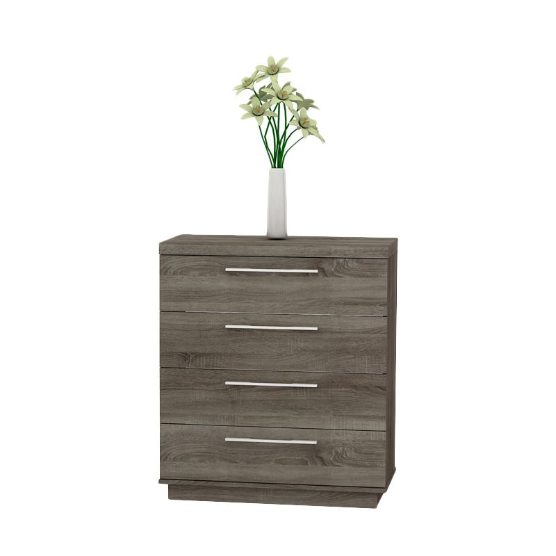 Melody Dakota Chest 4DRW Sonoma Oak Dark Laci