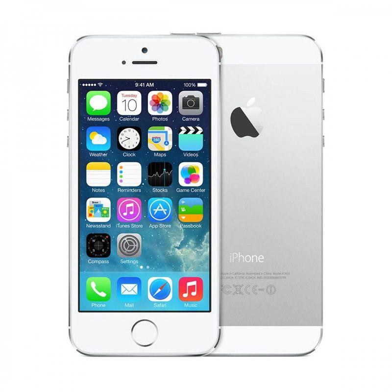 Apple IPhone 5S Silver Smartphone [16 GB/Garansi Distributor]