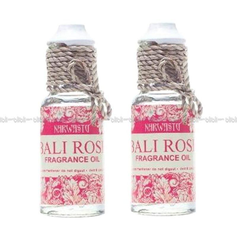 Narwastu Bali Rose Fragrance Oil - Aromatherapy 10 ml (2in1)