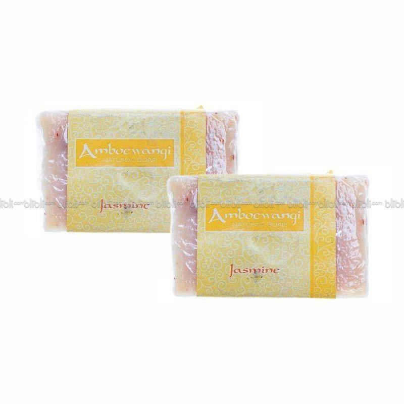 Narwastu Bar Soap Jasmine 100 gr - 2 in 1