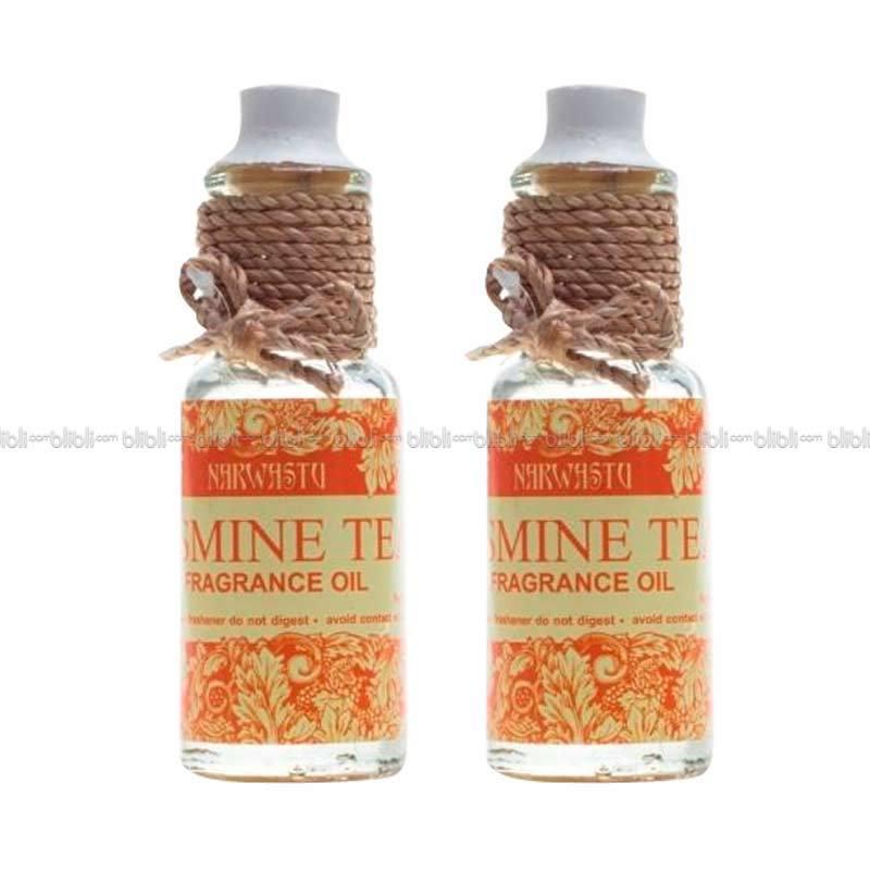 Narwastu Fragrance Oil Jasmine Tea 10 ml (2in1)