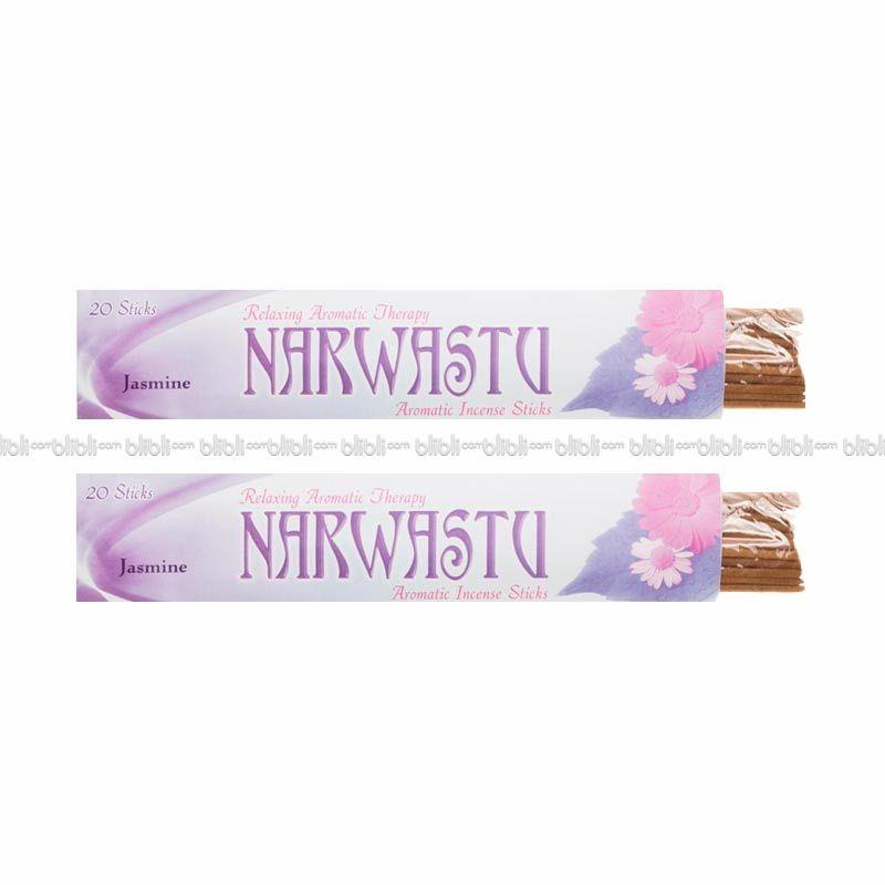 Narwastu Insence Stick Dupa Aromaterapi Jasmine isi 40pcs