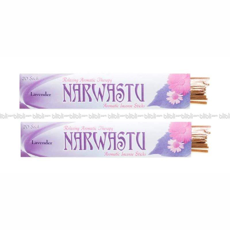 Narwastu Insence Stick Dupa Aromaterapi Lavender isi 40pcs