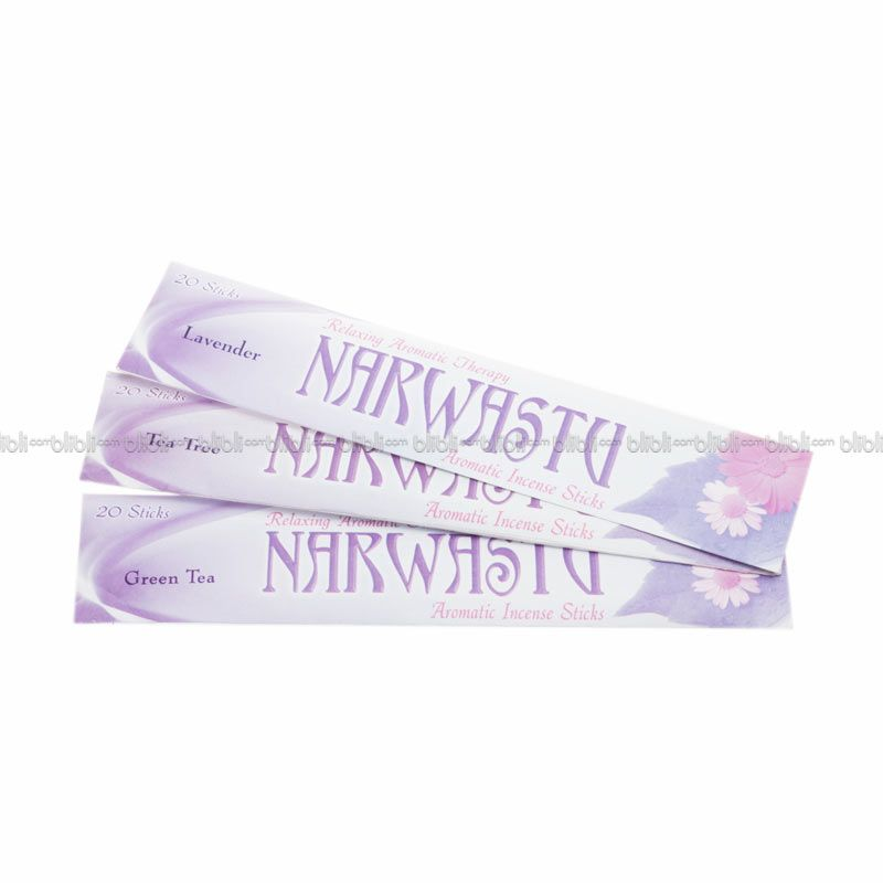 Narwastu Paket 3 Incense stick (Green Tea, Tea Tree dan Lavender)