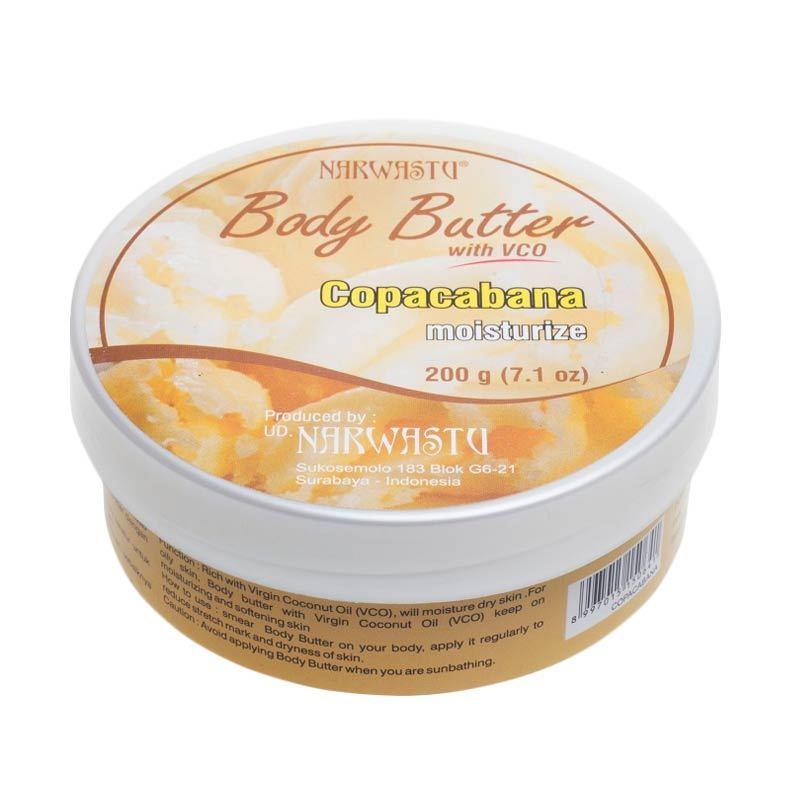 Narwastu Boddy Butter Copacabana 200 gr