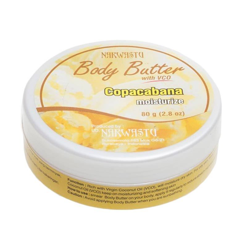 Narwastu Boddy Butter Copacabana 80 gr