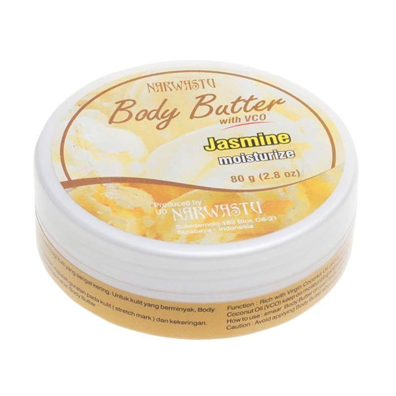 Narwastu Body Butter Jasmine 80 gr