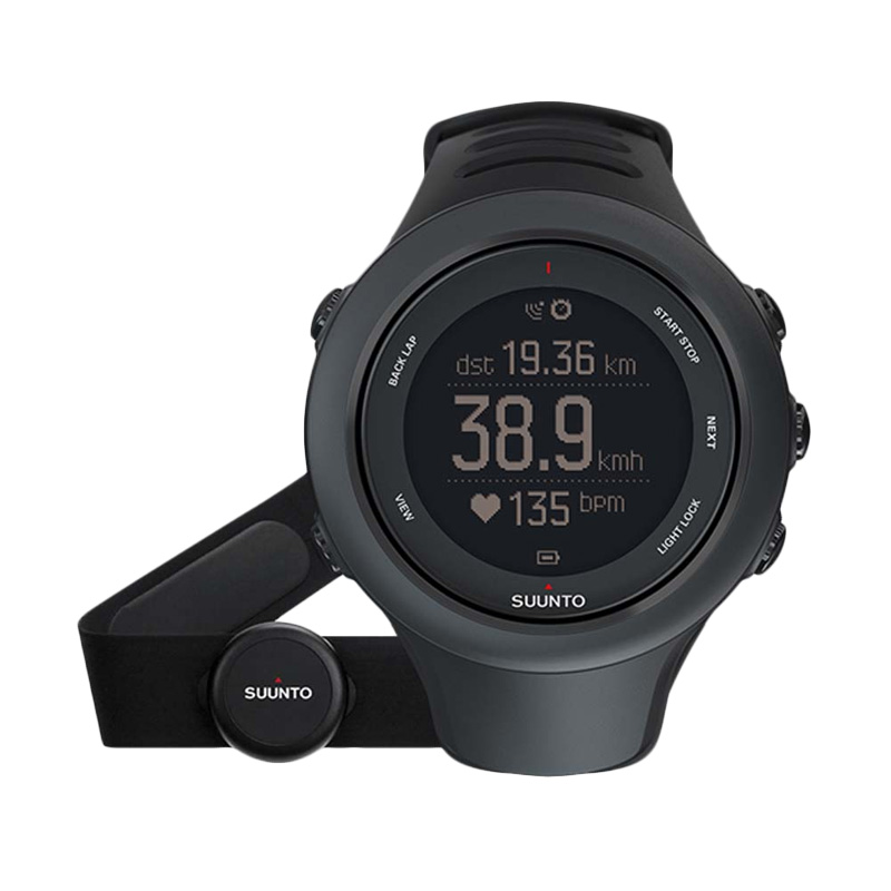 Suunto Ambit3 Sport (HR) GPS Watch - Black