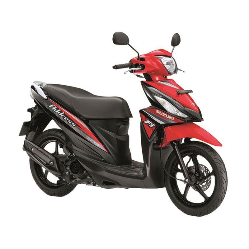 Suzuki Address Fi 110 NE Celebration Red Sepeda Motor [OTR Bandung]