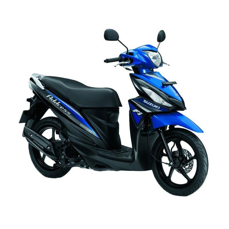 Suzuki Address Fi 110 NE Metallic Medium Blue Sepeda Motor [OTR Bandung]