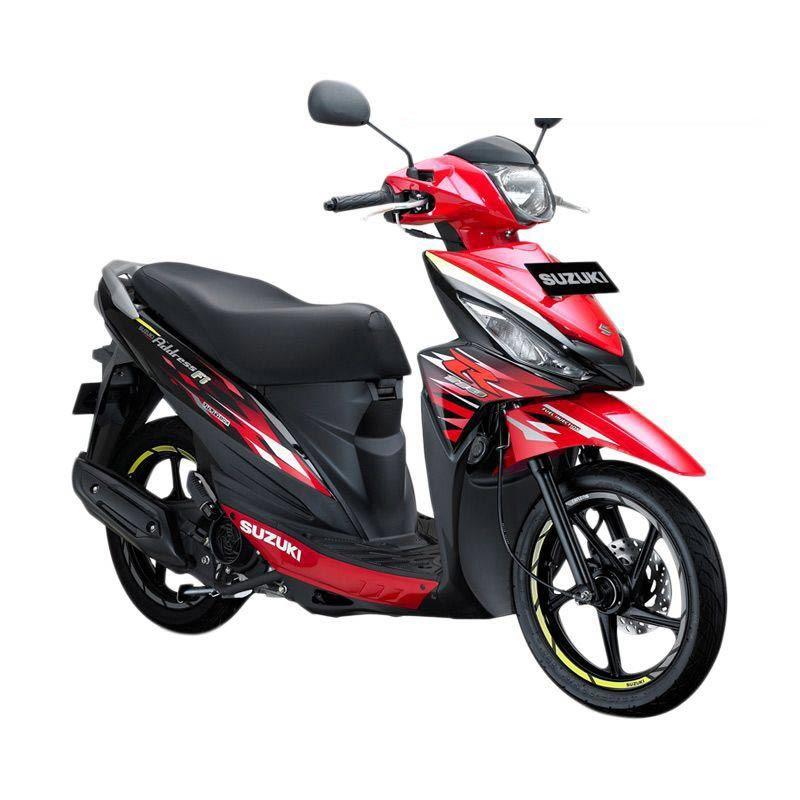 Suzuki Address Fi 110 NEC Celebration Red Titan Black Sepeda Motor [OTR Bandung]