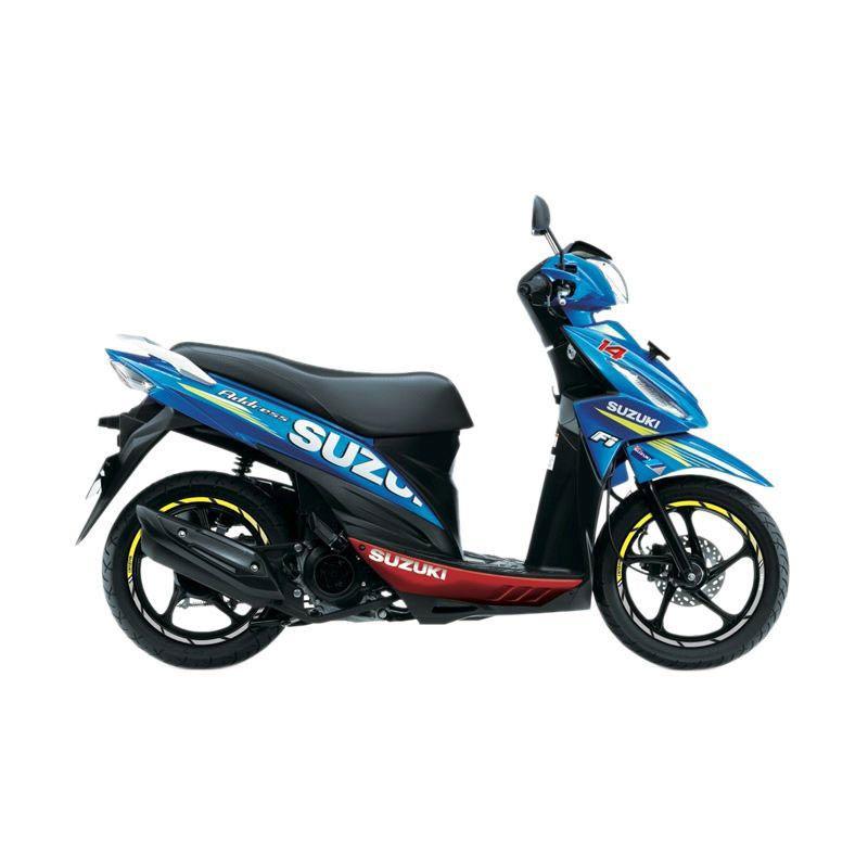 Suzuki Address Fi 110 NX Biru Spesial MotoGP Sepeda Motor [OTR Bandung]