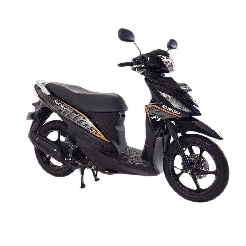 Suzuki Address Fi 110 NZ Titan Black Sepeda Motor [OTR Bandung]