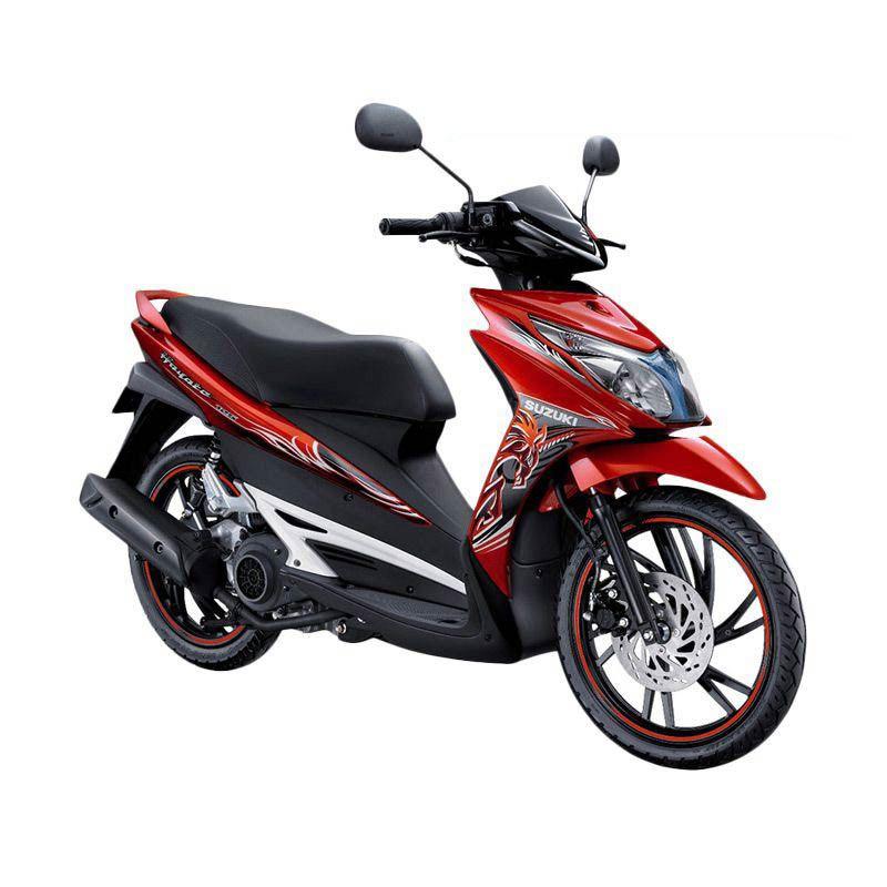 Suzuki Hayate 125 CDY Max Orange Sepeda Motor [OTR Bandung]
