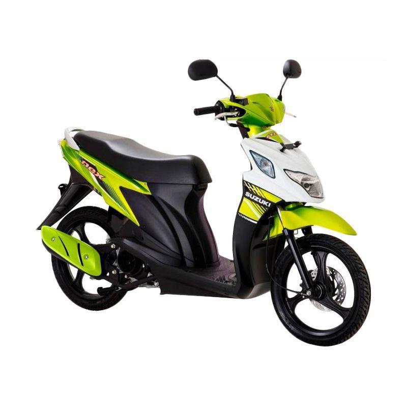 Suzuki Nex Super FI PRL Flash Green-Brilliant White Sepeda Motor [OTR Bandung]