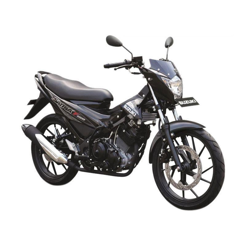 Suzuki Satria F 150 S Titan Black Sepeda Motor [OTR Bandung]