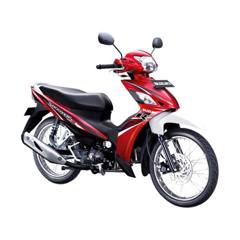 Suzuki Shooter 115 FI R Summer Red Sepeda Motor [OTR Bandung]