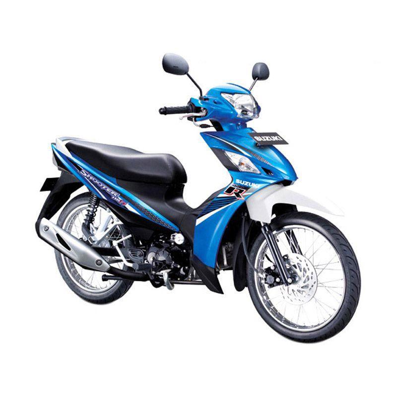 Suzuki Shooter 115 FI SR Blue Sepeda Motor [OTR Bandung]