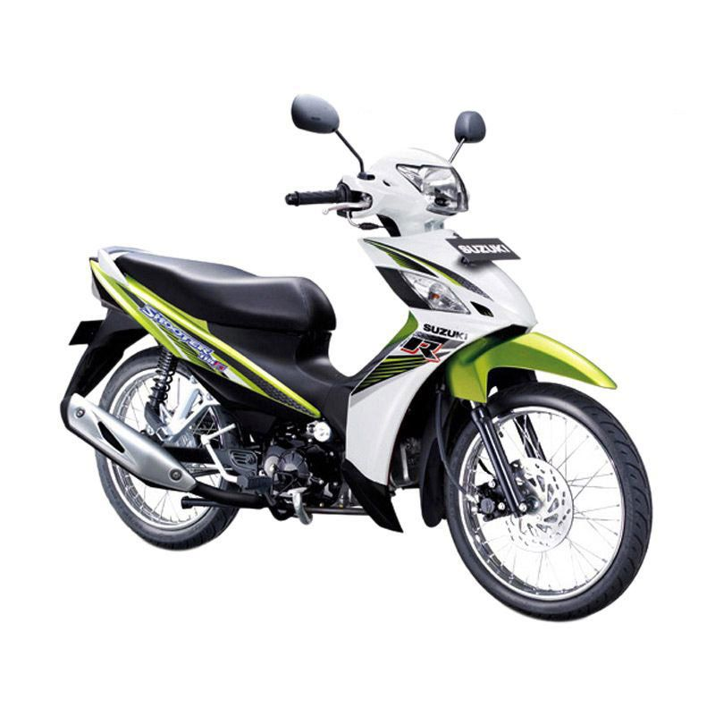 Suzuki Shooter 115 FI SR Flash Green Sepeda Motor [OTR Bandung]