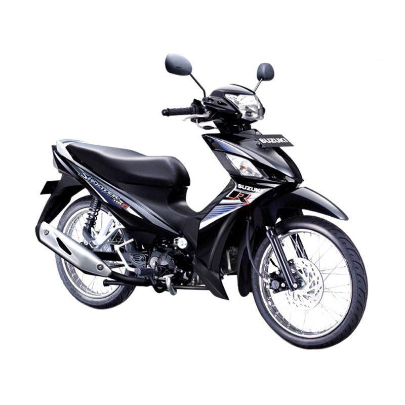 Suzuki Shooter 115 FI SR Titan Black Sepeda Motor [OTR Bandung]