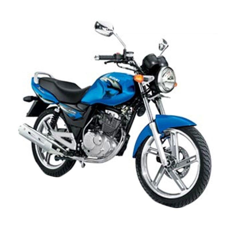 Suzuki Thunder 125 cc Blue Sepeda Motor [OTR Bandung]