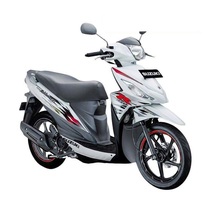 Suzuki Address Fi 110 NEC Brilliant White Sepeda Motor [OTR Medan]