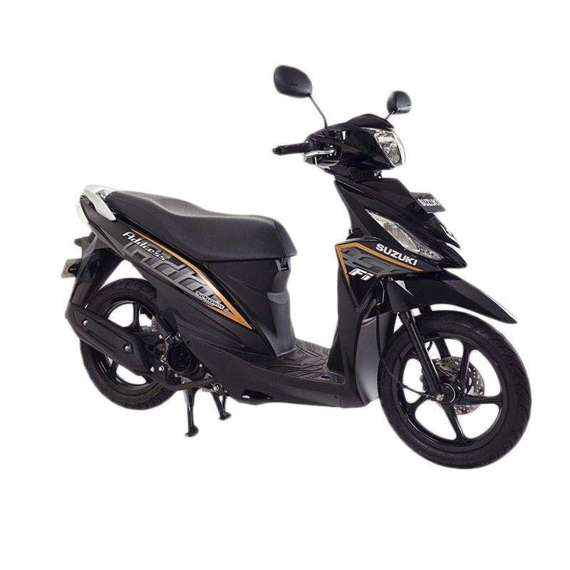 Suzuki Address Fi 110 NZ Titan Black Sepeda Motor [OTR Medan]