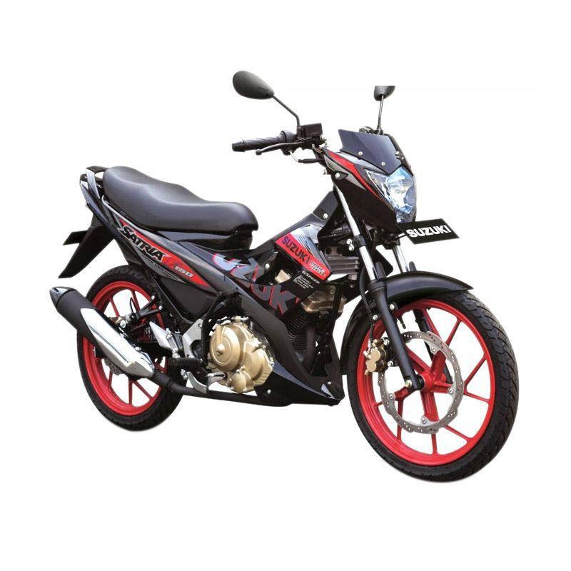 Suzuki Satria Black Fire III Red Sepeda Motor [OTR Medan/150 cc]