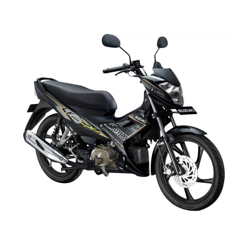 Suzuki Satria F115 Young Star Titan Black Sepeda Motor [OTR Medan]