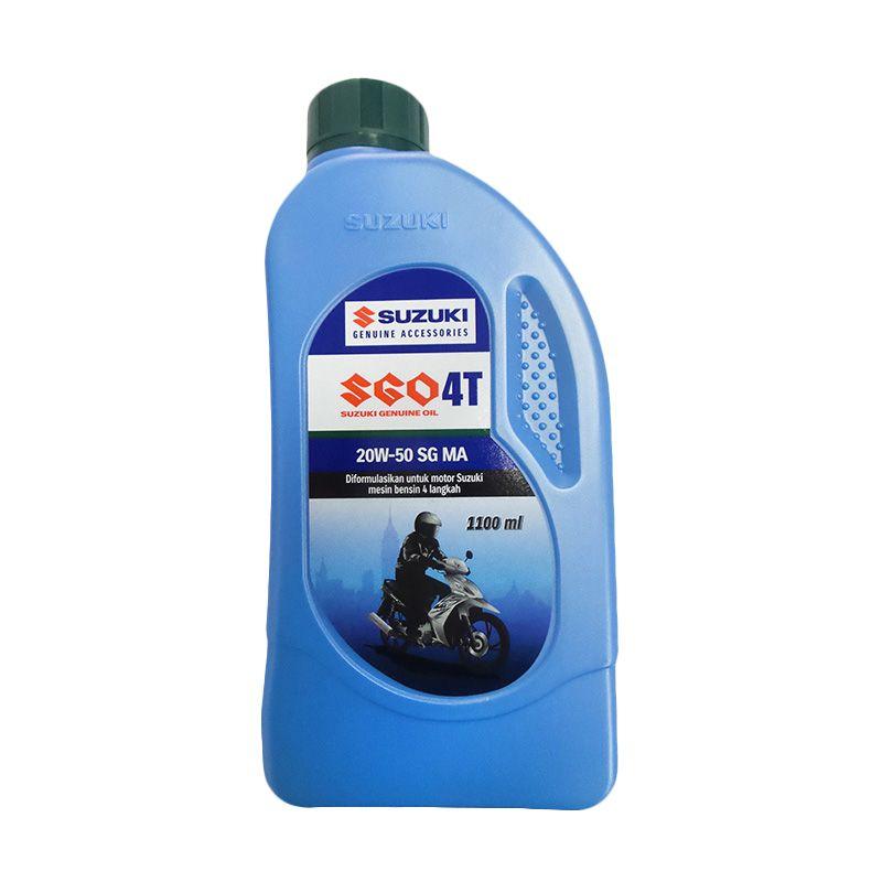 Suzuki Genuine Parts Oil 4T Pelumas Motor [1.1 Liter]