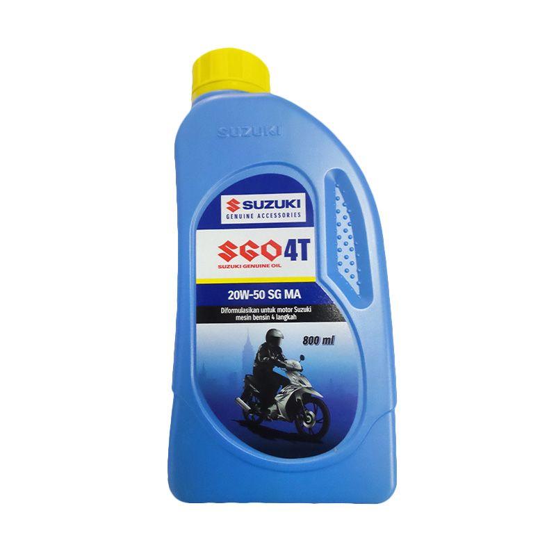 Suzuki Genuine Parts Oil 4T Pelumas Motor [800 mL]