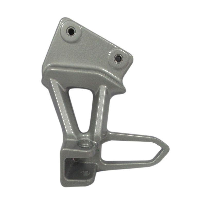 Suzuki Genuine Parts Silver Bracket Pillion Footrest Left [43811B13H00N000]