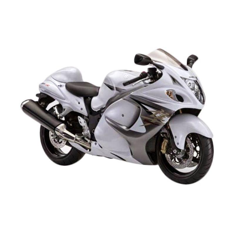 Indent - Suzuki Hayabusa Pearl Gracier White Sepeda Motor