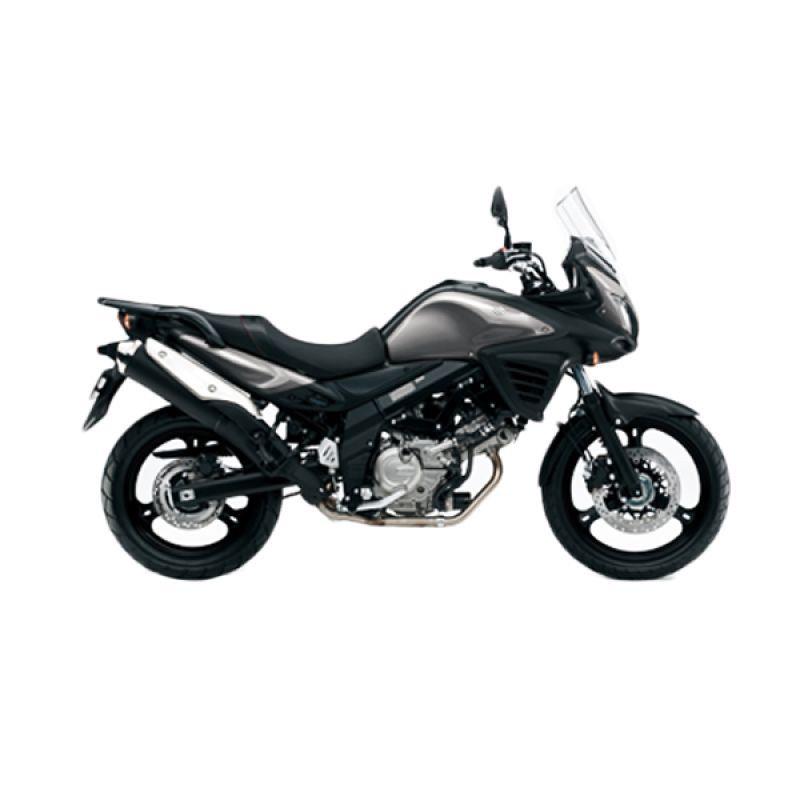 Indent - Suzuki V-Strom 650 Mettalic Thunder Grey Sepeda Motor