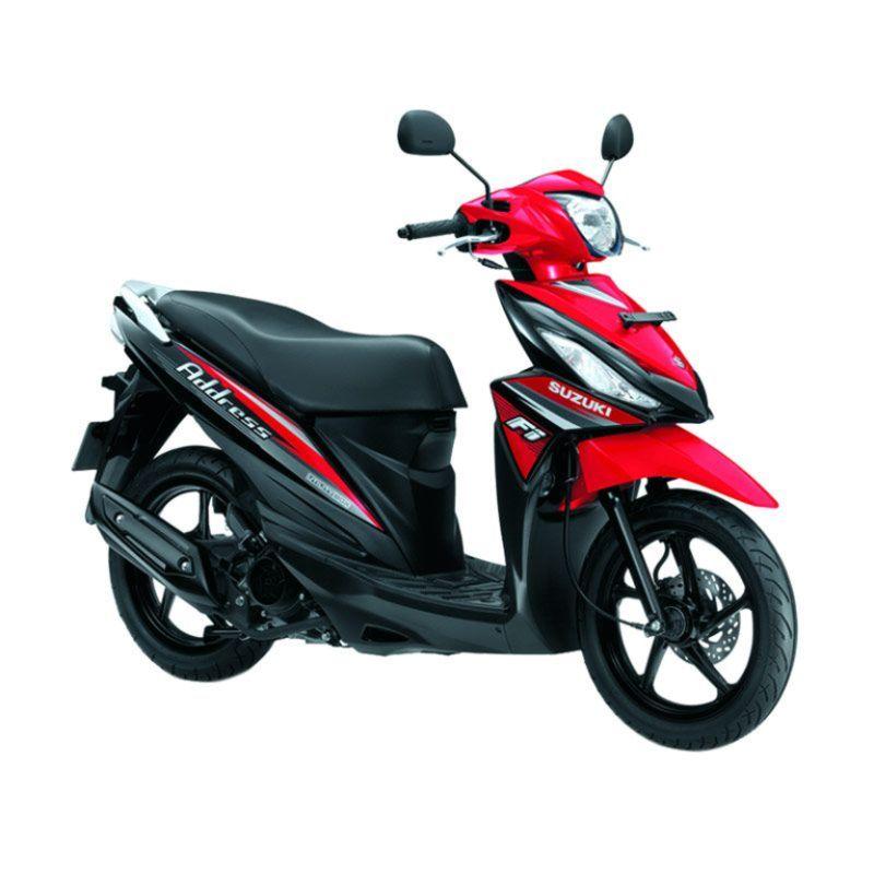 Suzuki Address Celebration Red Sepeda Motor OTR Jadetabek