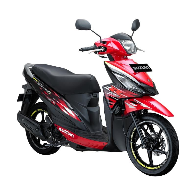 Suzuki Address Fi 110 NEC Celebration Red Titan Black Sepeda Motor [OTR Surabaya]