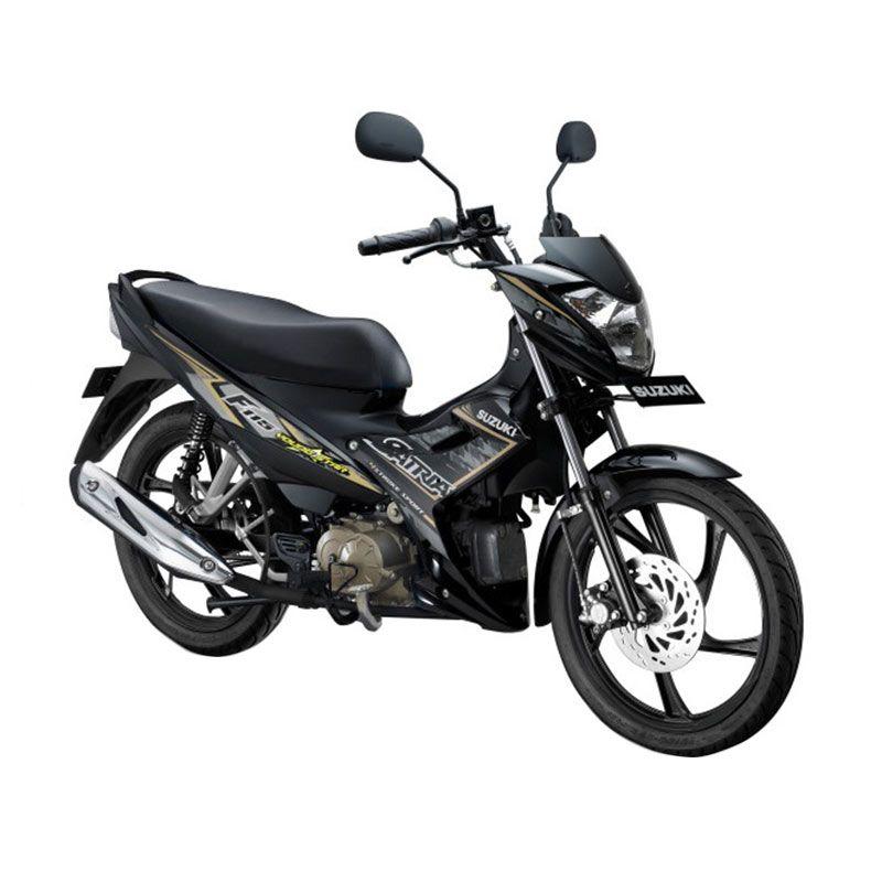 harga Suzuki Satria F115 Young Star Titan Black Sepeda Motor [OTR Surabaya] Blibli.com