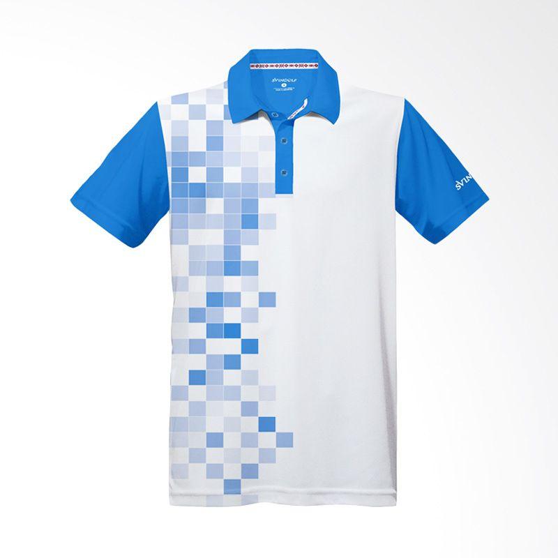 Svingolf 8 Bit Aqua Blue Baju Golf